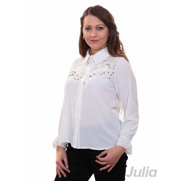 Бяла официална риза