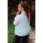 Комплект блуза и елек