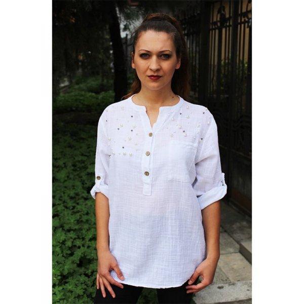 Дамска памучна риза-туника