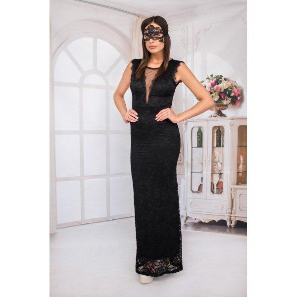 Вечерна рокля от дантела