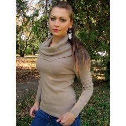 Плетена блуза шал яка