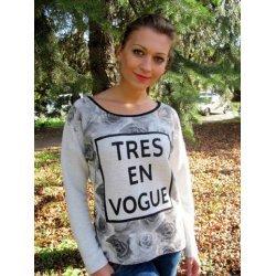 Блуза онлайн от трико щампа