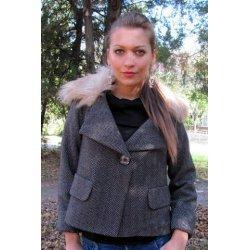 Дамско късо палто
