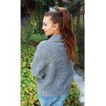 Дамски пуловер сив