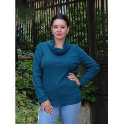 Блуза с шал-яка