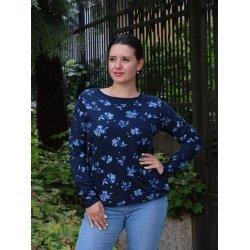 Блузка на цветя L размер