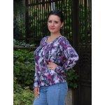 Блуза макси размер