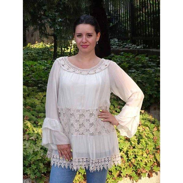 Блузка в бохо-стил