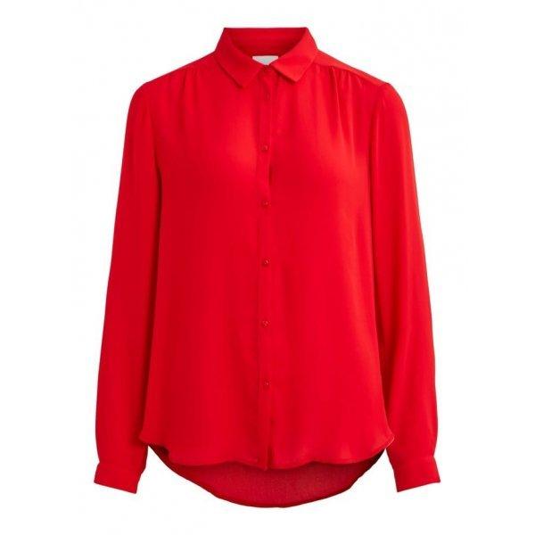Елегантна червена риза
