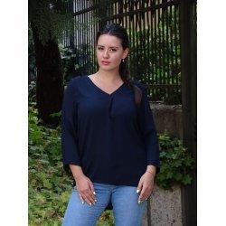 Тъмно синя блузка