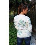 Блузка фино плетиво