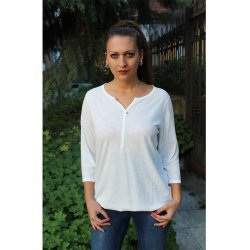 Ежедневна бяла блузка