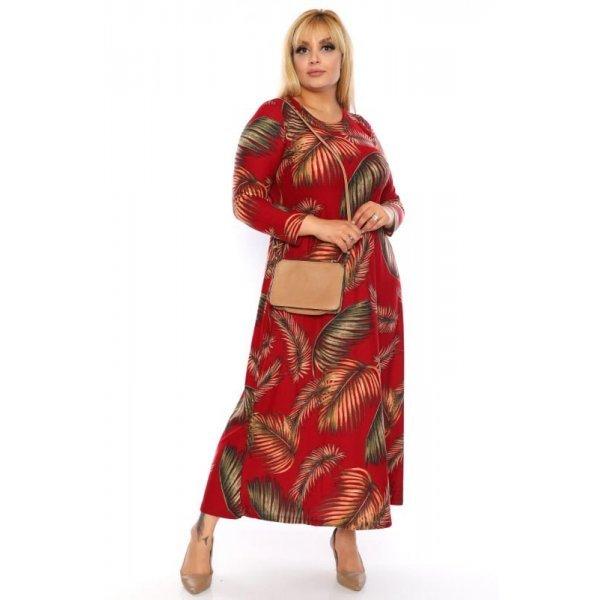 Дълга рокля едри жени