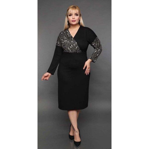 Вечерна рокля за едри дами