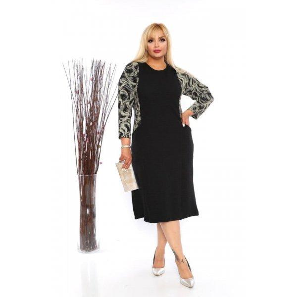 Елегантна рокля за едри жени