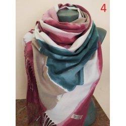 Кашмирени преливащи шалове
