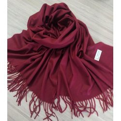 Кашмирен шал бордо