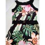 Лятна рокля с принт на цветя