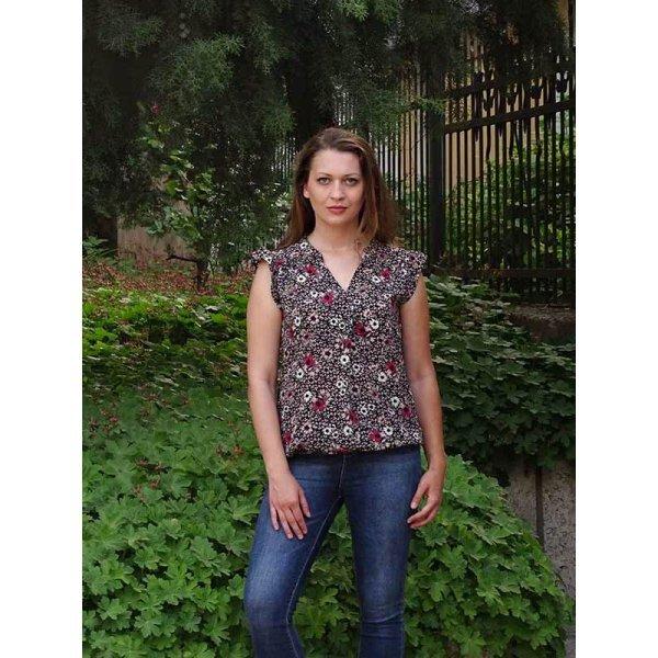 Блузка на цветя Жанет