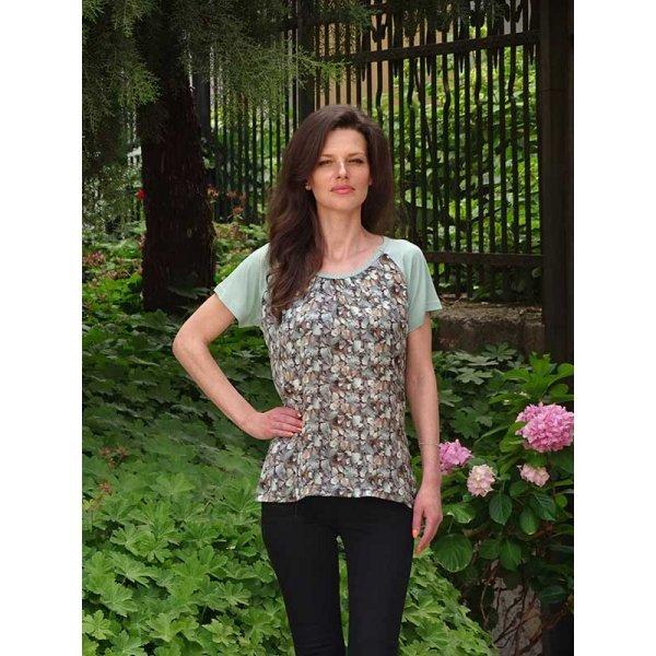 Ежедневна лятна блузка