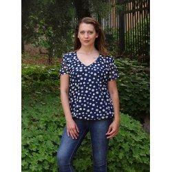 Лятна блузка на точки