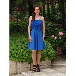 Елегантна разкроена рокля