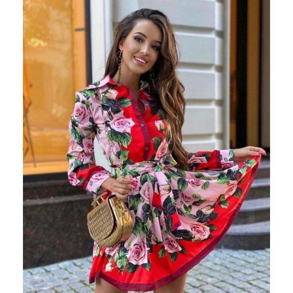Дамска рокля за пролетта