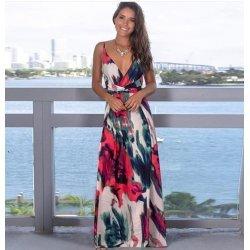 Лятна дълга рокля на цветя