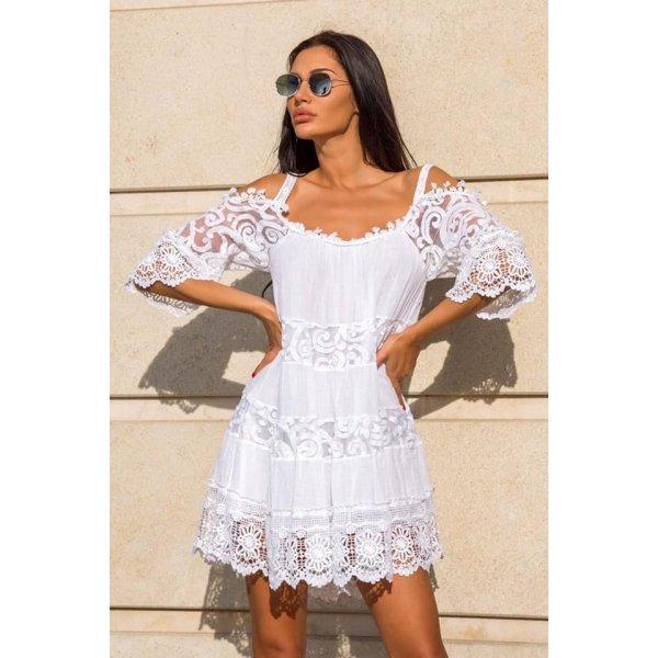 Лятна рокля в бохо стил