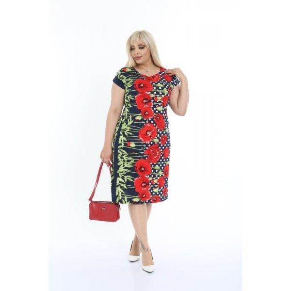 Лятна рокля с големи размери