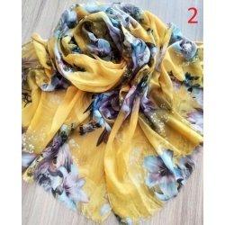 Ефирен памучен шал