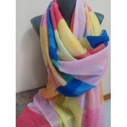 Летен шал памучен