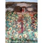 Сатенен шал коприна