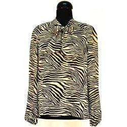 Блуза от шифон зебра