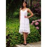 Бяла рокля стил бохо