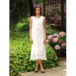 Лятна ажурна рокля