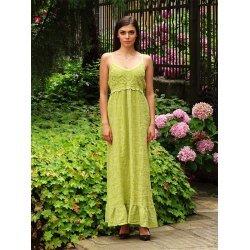 Дълга ленена рокля