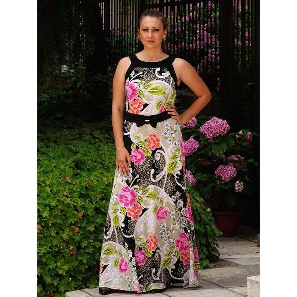 Лятна дълга рокля Дебора