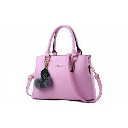 Елегантна чанта Arya Light Pink
