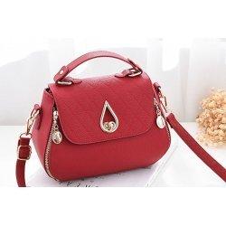 Малка дамска чанта Brielle Red