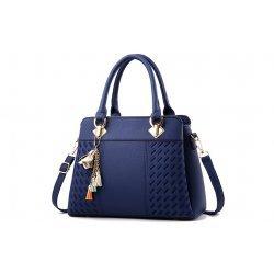Синя чанта Hailey Blue