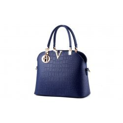 Синя чанта Amanda Blue