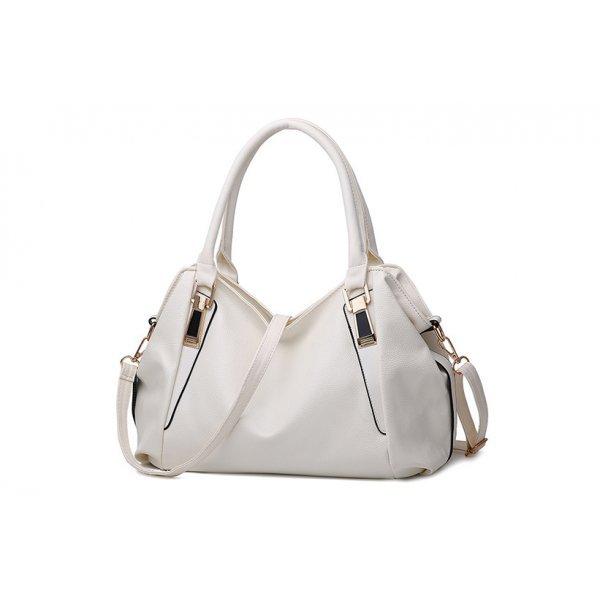 Дамска бяла чанта Lidya