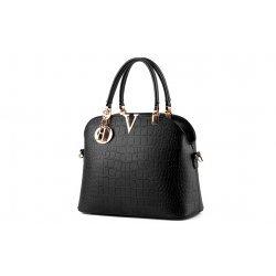 Дамска черна чанта Amanda Black
