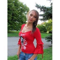 Блуза три четвърти ръкав