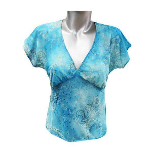 Блуза от материя мрежа