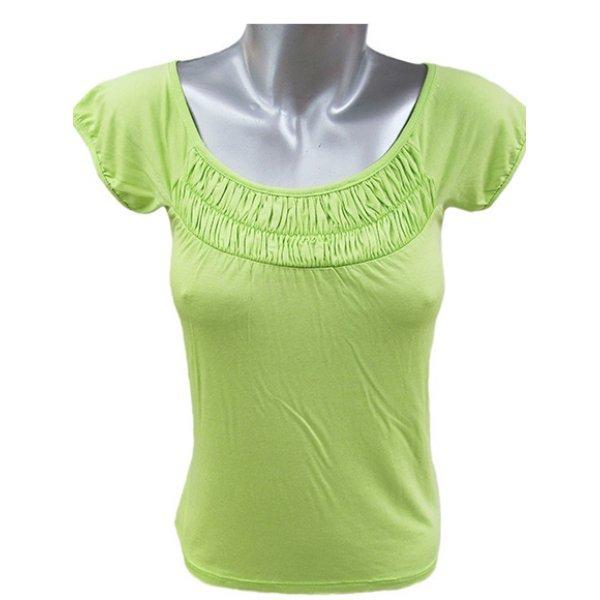 Блуза от трико резедава
