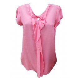 Лятна блуза с къс ръкав