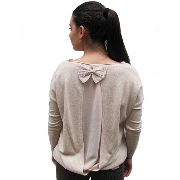 Блуза официална плетиво