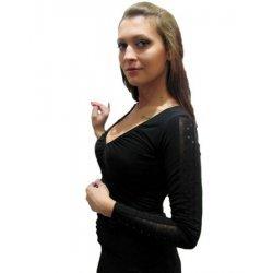 Официална блузка в черно